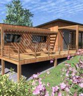 Veranda poteau beton ou veranda alu rodez