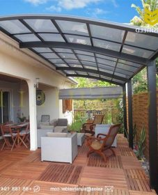 Veranda garden and design – veranda confort bois