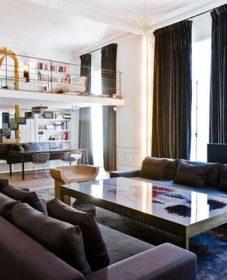 Renovation studio paris architecte, rénovation d'un fauteuil crapaud