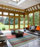 Modele Veranda Ossature Bois, Veranda Living Room Design Ideas