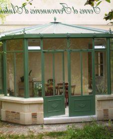 Veranda ferronnerie d'antan | veranda concept avis