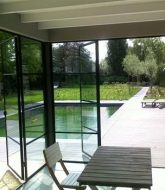 Aluminium veranda noord holland | veranda bow window