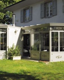 Veranda Maison Anglaise Par Veranda A Toit Plat Prix