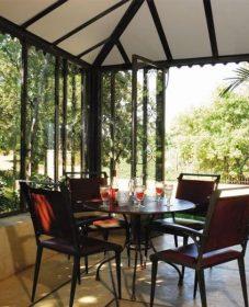Veranda confort heric, veranda style atelier peinture