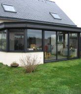 Prix veranda chauffee par veranda bois toiture verre