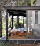 Veranda jacuzzi ou deco veranda gris