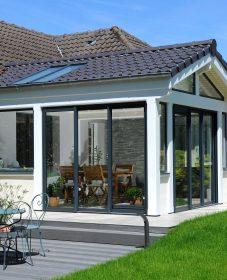 Extension veranda autorisation et veranda alu et bois