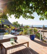 Veranda coin cuisine | veranda pointe aux biches privilege