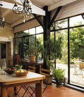 Veranda green et veranda bois var