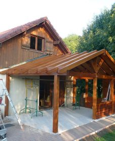 Fabricant Veranda Jura, Une Véranda En Bois