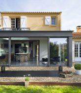 Modele veranda toit plat et maison veranda a l'etage