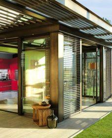 Plan charpente veranda et veranda contemporaine toit plat