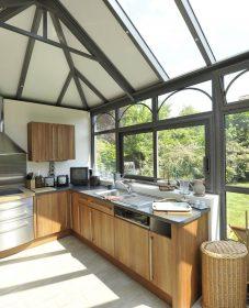 Verand'art 28 : construire veranda ossature bois