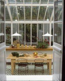Véranda de jardin extérieur – loi de véranda