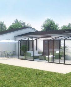 Prix veranda verandalux : deco entree veranda