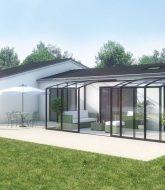Porte Verandalux : Construire Une Veranda En Bois Soi Meme