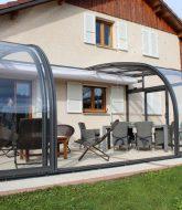 Veranda amovible | veranda arrondie prix