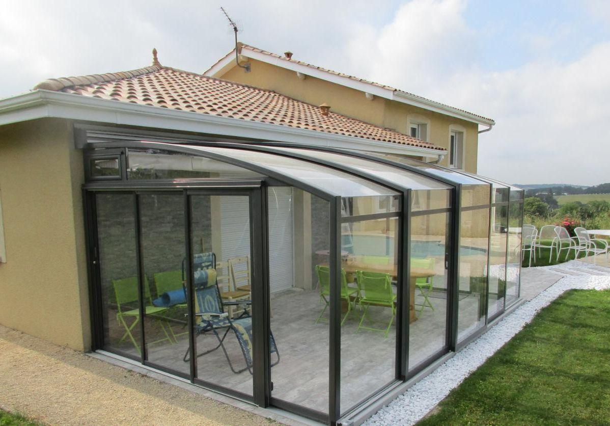 Kit veranda coulissante par veranda en kit porte coulissante - Duplex10m2