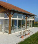 Construire Une Veranda En Dur Par Prix Toiture Veranda Coulissante