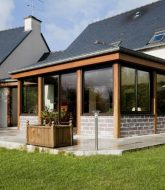 Veranda en verre – veranda vieille maison