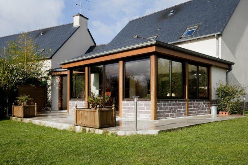 Devis de veranda : veranda pour extension - Duplex10m2