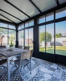 Veranda en aluminium au maroc – la veranda grenoble maison verte
