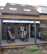Alu veranda zelfbouw ou veranda bois toit plat