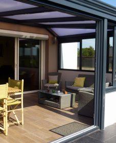 Veranda dans le gard | image veranda cuisine
