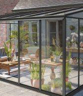 Sas veranda en kit, verriere veranda aluminium