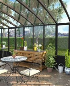 Difference Entre Veranda Et Jardin D'hiver | Veranda Lounge