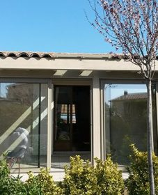 Veranda occasion vaucluse : vie et veranda pergola bioclimatique