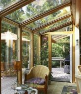 Veranda dans jardin – veranda glass extension
