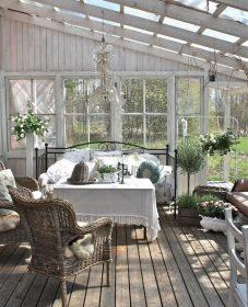 Veranda cuisine jardin : veranda light