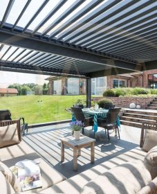 Veranco veranda belgique : petite véranda de porte d'entrée
