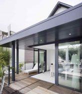 Veranda piscine coulissante – veranda maison en u