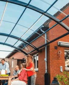 Veranda home hapert ou veranda overkapping aluminium