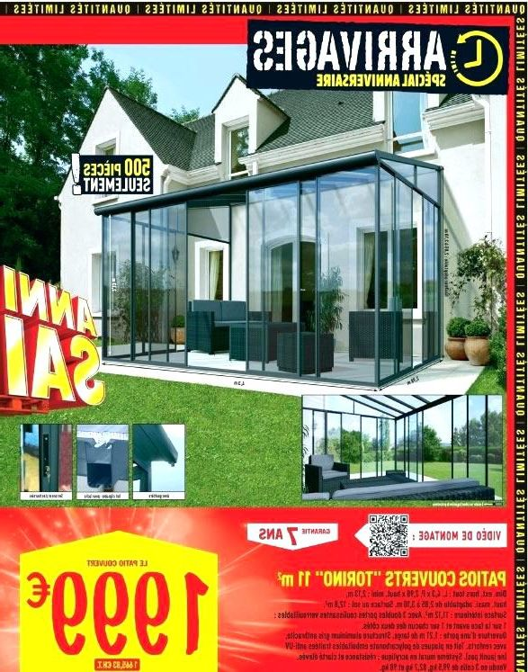 Veranda gardanne - brico depot veranda en kit - Duplex10m2