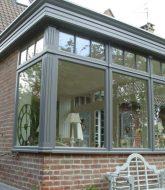 Veranda sur maison en v et veranda ou extension maison