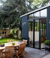 Veranda Jardin D'hiver Bois : Veranda Sur Jardin Privatif