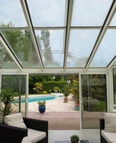 Veranda retractable avis : isoler veranda en verre