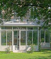 La veranda alu | veranda gris acier