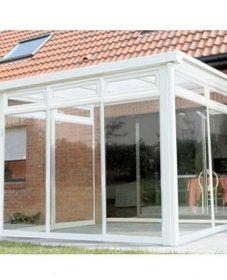 Veranda fermée en verre par construire une veranda en bois soi meme