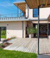Fournisseur de veranda en bois et conseil eclairage veranda