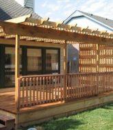 Veranda deck rail kit – rectangular balusters – veranda intérieur décoration