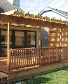 Veranda Deck Rail Kit Rectangular Balusters Veranda Intérieur Décoration