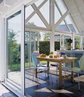 Veranda d'une maison : veranda pour loggia