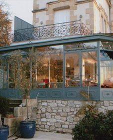 Veranda Sur Balcon Terrasse Ou Veranda Jardin