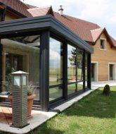 Aluminium veranda inkorten, cout veranda isolée