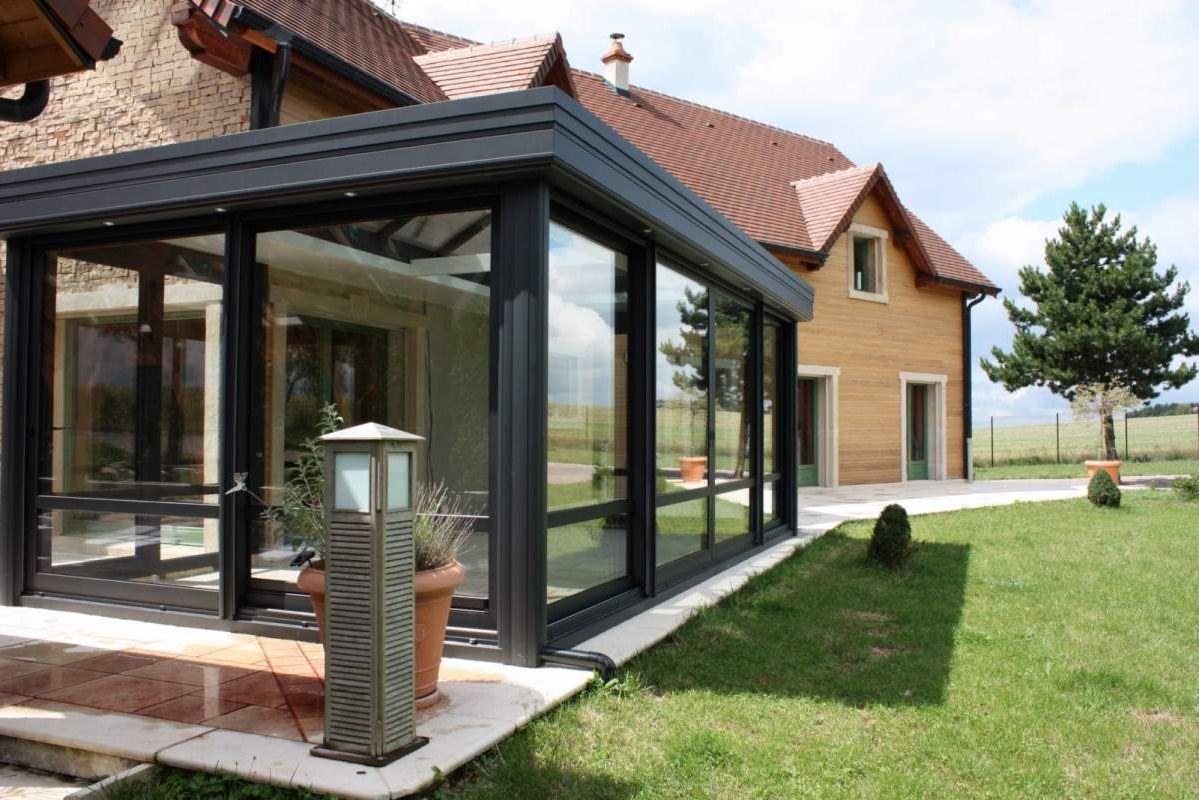 Aluminium veranda inkorten, cout veranda isolée - Duplex10m2