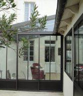 Cuisine dans veranda atelier : repeindre veranda alu